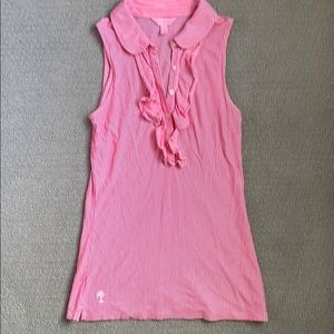 Lilly Pulitzer pink top xs
